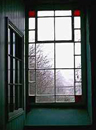 Chapel school room window in