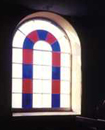Chapel window in Belper