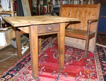 welsh settle and table